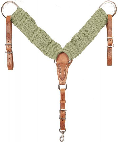 Mustang Vorderzeug BAMTEX Bamboo Cord Breast Collar Horse
