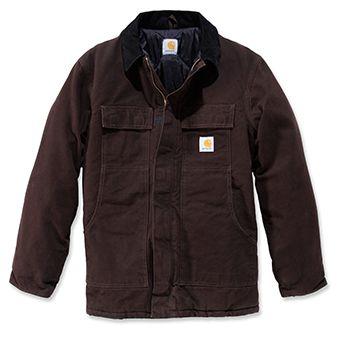 Sandstone Traditional Coat Dunkelbraun M