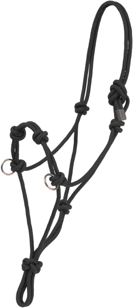Mustang Halfter aus Seil (Side Pull Rope )