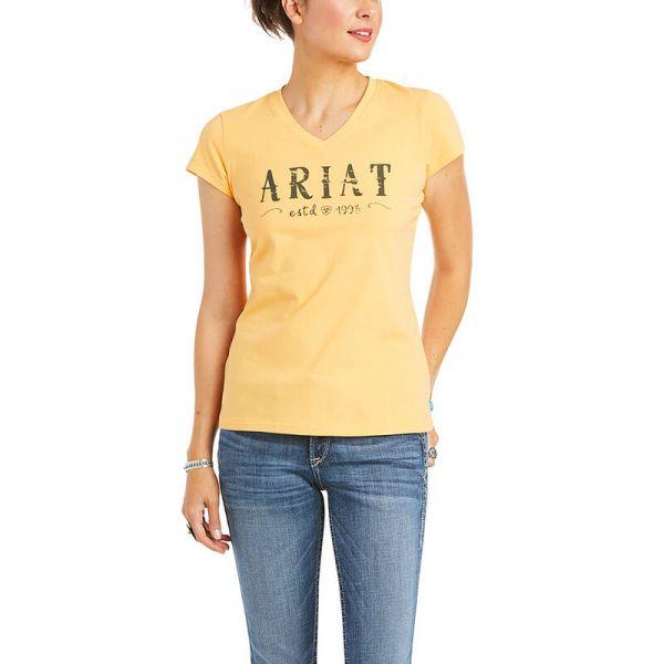 """Ariat Damen T-Shirt """"R.E.A.L. Logo"""""""