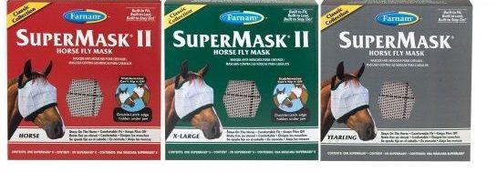Fliegenmaske Supermask II ohne Ohren
