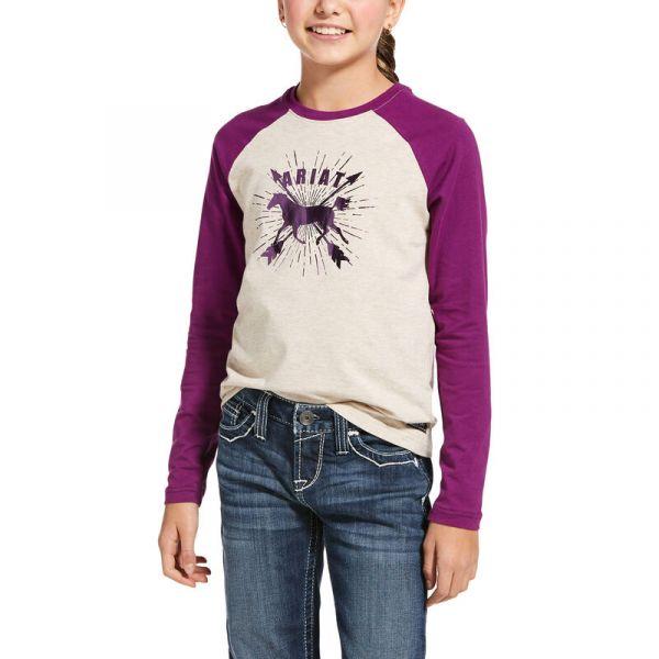 "Ariat Kinder T-Shirt ""Dash Logo"""