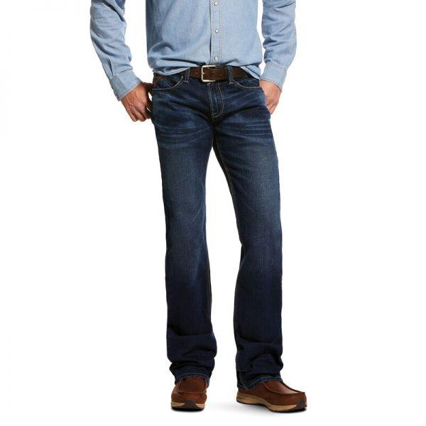 "Ariat Herren Jeans ""M7 Rocker Stretch Montecito Stackable Straight Leg"""