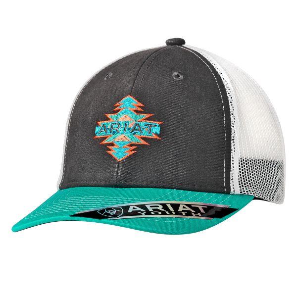"""Ariat Kinder CAP """" Aztec-Ariat-Logo"""