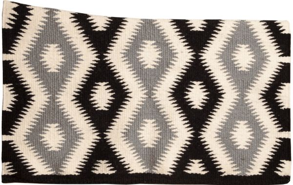 Mustang Tuscon Contoured Wool Blanket