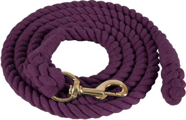 """Mustang Führstrick Cotton Lead Rope 3/4""""x10'"""