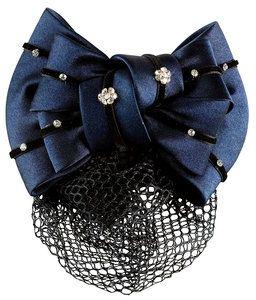Haarnetz mit Satinschleife