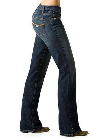 """Cruel Girl Jeans """"Georgia"""" Stretch blau"""