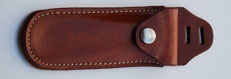 Hufkratzertasche aus Leder