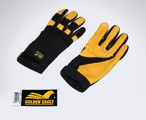 Handschuhe/Golden Eagle Hirschleder Handschuhe
