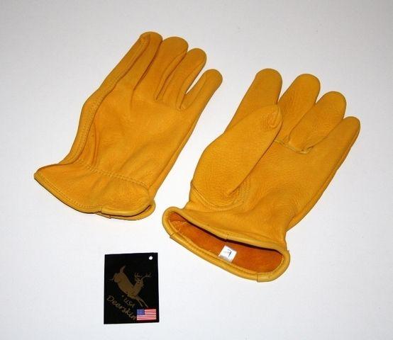 """Handschuhe/""""Majestic"""" Premium Hirschleder Handschuhe"""