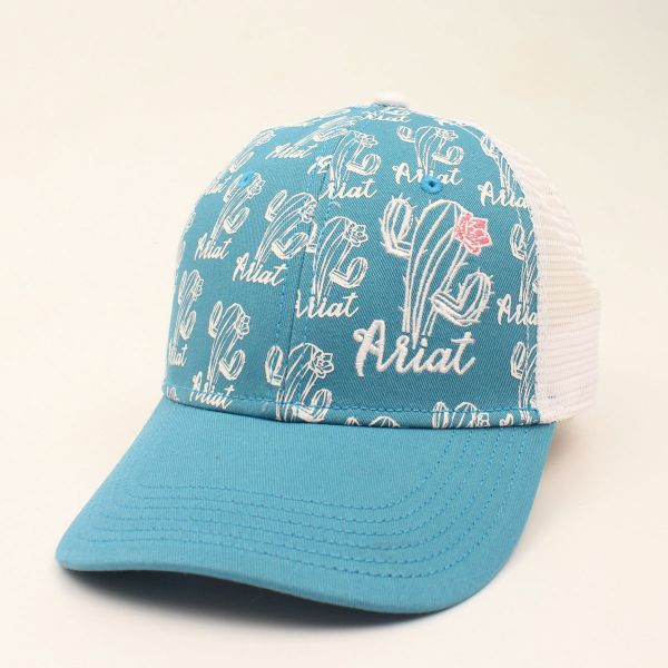 "Ariat Damen CAP "" Cactus Print, türkis"""