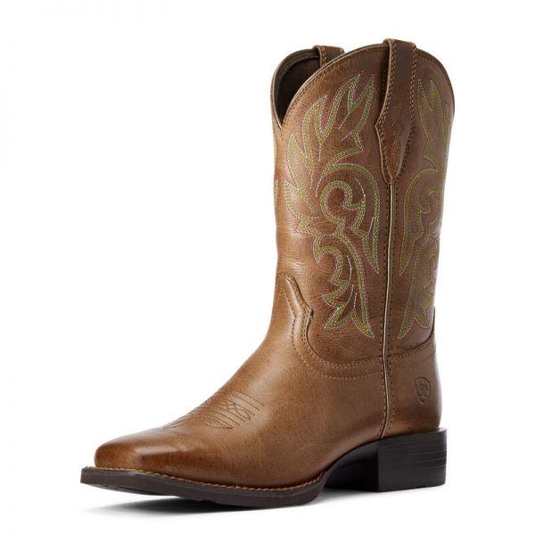 "Ariat Damen Western Boot ""Cattle Drive"" dusty brown"