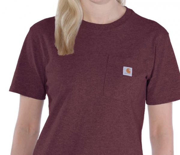 Carhartt Kurzarm T-Shirt Damen WORKWEAR POCKET