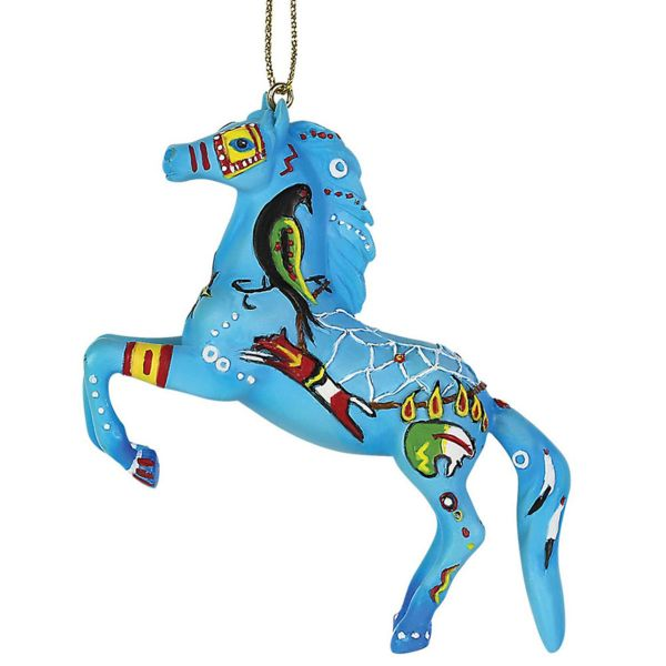 Painted Pony Native Dreamer Ornament