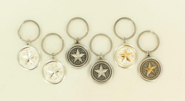 """Schlüsselanhänger """"Texas Star"""" in verschiedenen Ausführungen"""