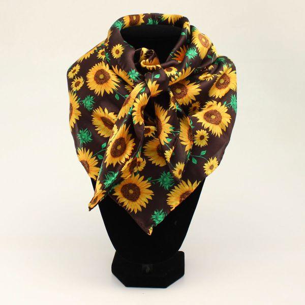 "Seidentuch ""Sunflower"" yellow"