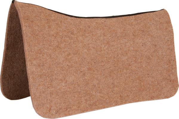 Mustang Contoured Wool Pad Protector Tan