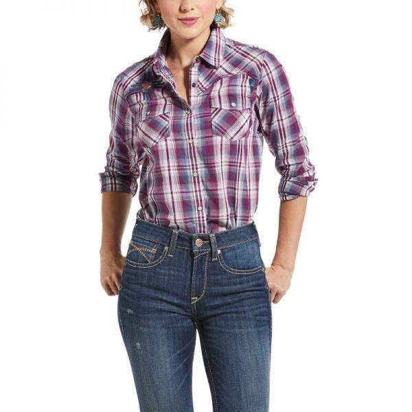 """Ariat Damen Langarm-Shirt (Bluse) """"REAL Incredible"""""""